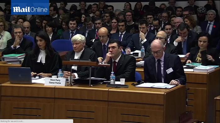 صور من داخل جلسة المحكمة الأوروبية لحقوق الإنسان.. ومظاهرات أرمنية تركية في الشارع