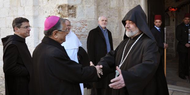 بطريرك القدس للاتين: يحب الانتصار على إنكار تركيا لمذبحة الأرمن بقوة الحقيقة