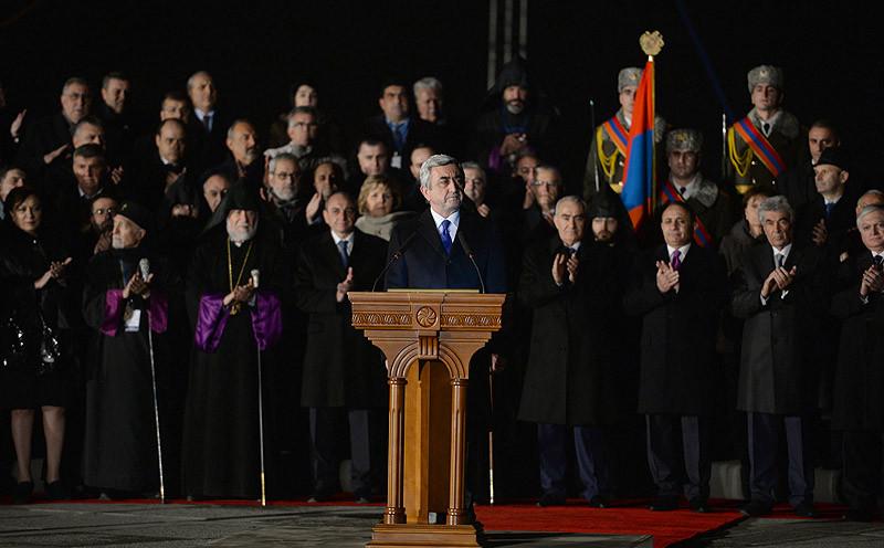 أرمينيا تطالب تركيا الإعتراف والتعويض