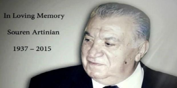 نقل جثمان صاحب الأيادي البيضاء سورين آرتينيان للعاصمة يريفان