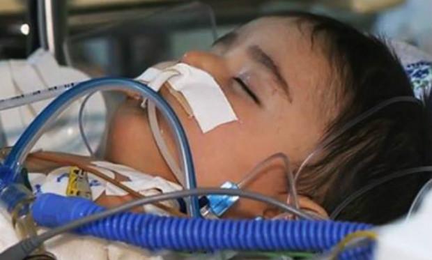 عاجل.. الأطباء يفشلون في إنقاذ حياة الرضيع الأرمني الباقي من العائلة التي أبادها الجندي الروسي