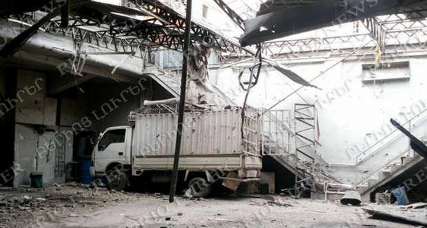 الأحياء ذات الغالبية الأرمنية والمسيحية تحت القصف في حلب