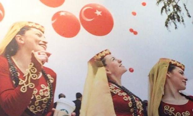 ستاربكس تعتذر عن نشرها صورا لنساء أرمنيات مع نجمة وهلال تركيا