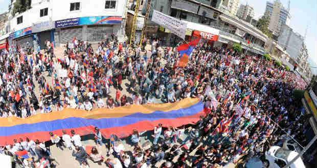 مئوية المجازر الأرمنية في نسختها اللبنانية