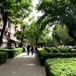شارع آبوفيان في العاصمة الأرمنية يريفان