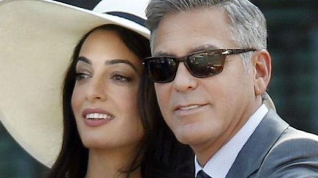 """بحضور جورج كلوني وزوجته.. إطلاق مبادرة """"100 حياة"""" الأرمنية في نيويورك"""