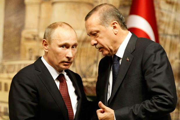 أردوغان يشكو ساركيسيان لبوتين في مكالمية هاتفية خاصة