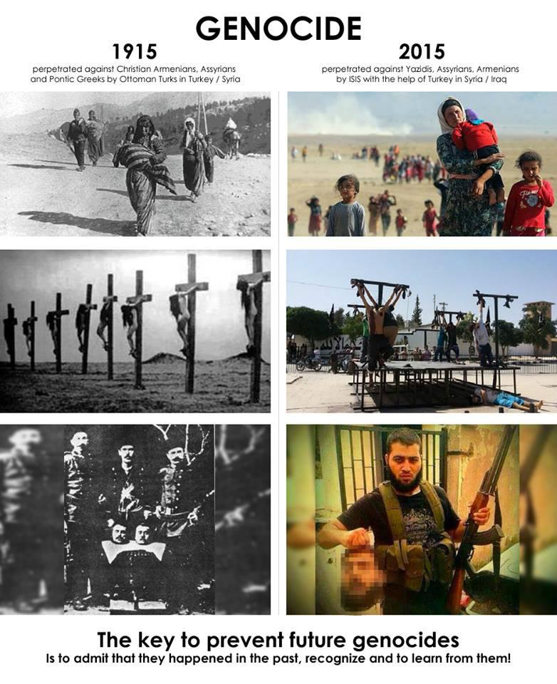 عدم معاقبة مرتكبي الإبادة الجماعية الأرمنية سبب كل ما يحدث اليوم