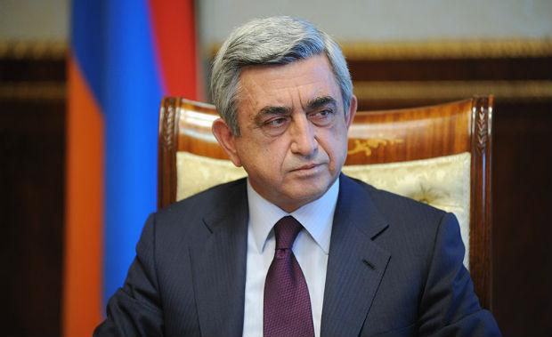 الرئيس ساركيسيان يهنئ الأشوريين بمناسبة رأس السنة الجديدة
