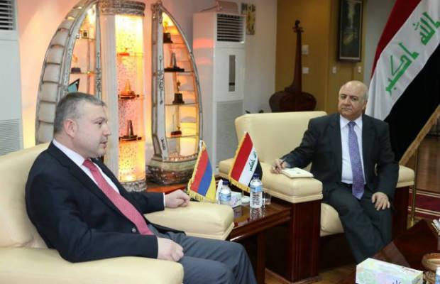 العراق وأرمينيا بصدد توقيع مذكرة تفاهم ثقافي