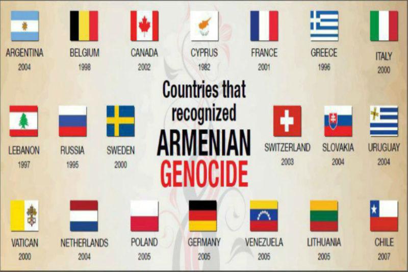 الإعتراف الرسمي بالإبادة الجماعية الأرمنية