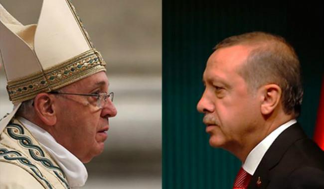 بعد استدعاء السفير الباباوي لديها.. تركيا تستدعي سفيرها من الفاتيكان