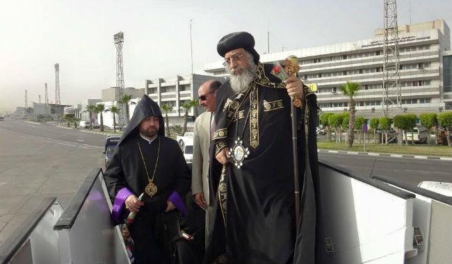 البابا تواضروس يتجه إلى أرمينيا مع وفد من 55 شخصية مصري