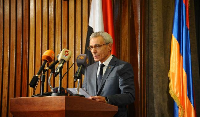 سفير أرمينيا: السوريين الأرمن في أرمينيا يرغبون العودة الى سوريا