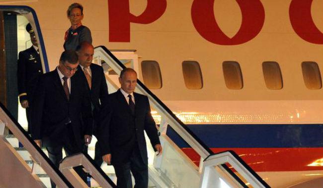 عاجل.. وصول الرئيس الروسي إلى يريفان للمشاركة في المئوية