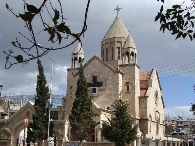 كنيسة السيدة العذراء للأرمن الأرثوذكس في حلب