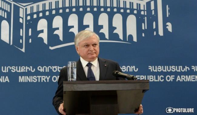 وزير خارجية أرمينيا إلى سوريا بعد أيام للإطلاع على أوضاع الجالية هناك