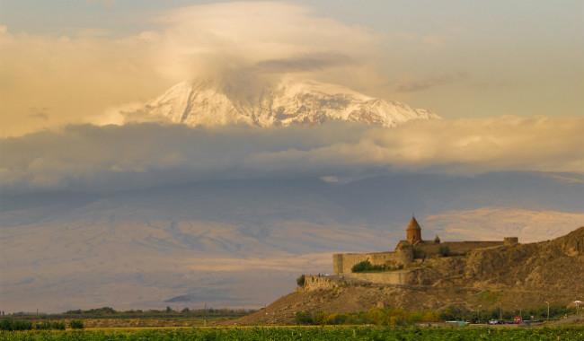 صورة: خور فيراب وجبال آرارات
