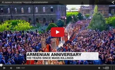 إحدى تقارير الجزيرة عن مئوية الإبادة الجماعية الأرمنية