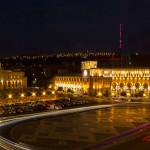 ساحة الجمهورية في العاصمة الأرمنية يريفان