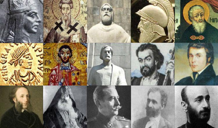 مشاهير الأرمن