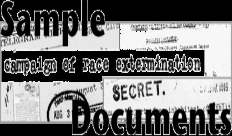 صور، وثائق وشهادات عن الإبادة الجماعية الأرمنية