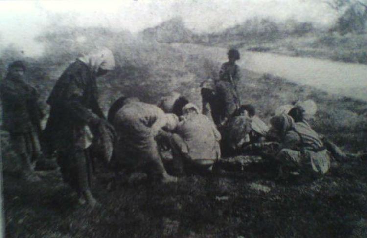 مخيمات دير الزور، الوجهة النهائية للسوقيات الأرمنية