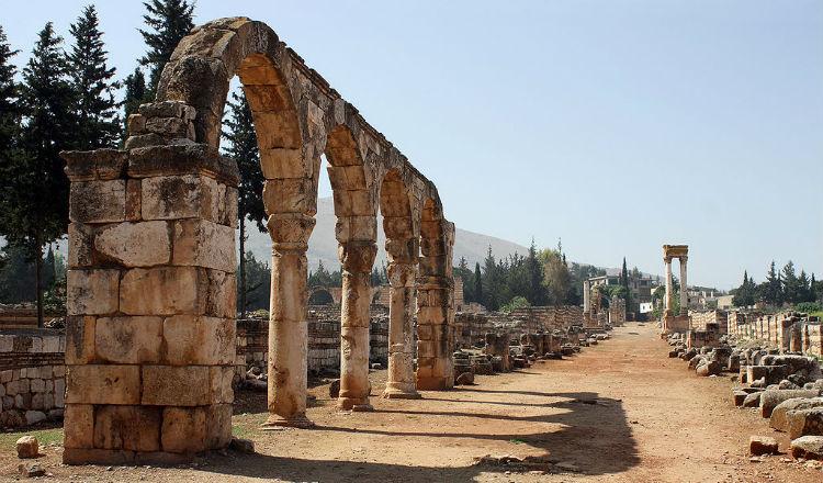 بلدة عنجر اللبنانية