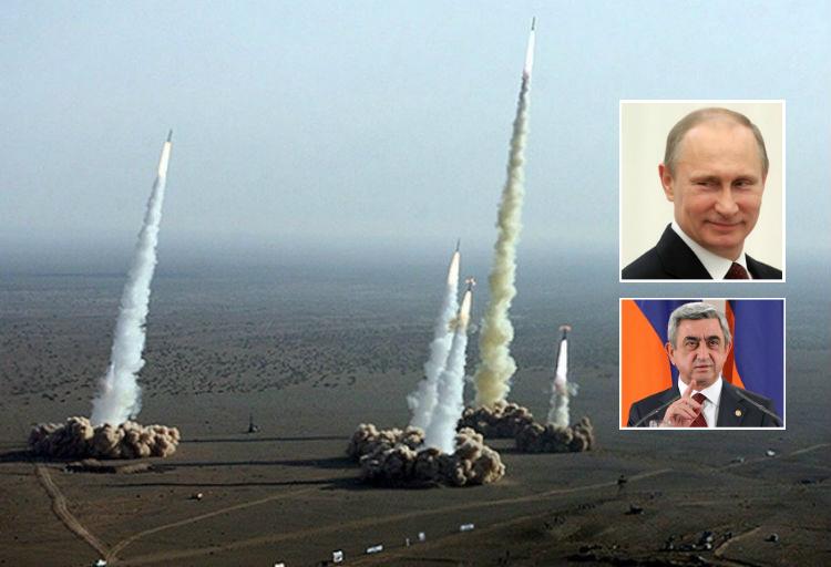 بوتين يوقع اتفاقية مع أرمينيا لإنشاء نظام دفاع جوي مشترك
