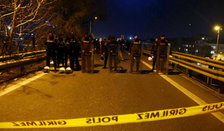 إصابة 5 أشخاص بانفجار قنبلة في اسطنبول