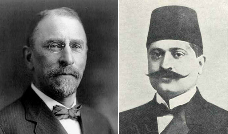 الحوار الذي دار بين طلعت باشا وهينري مورغنطاو