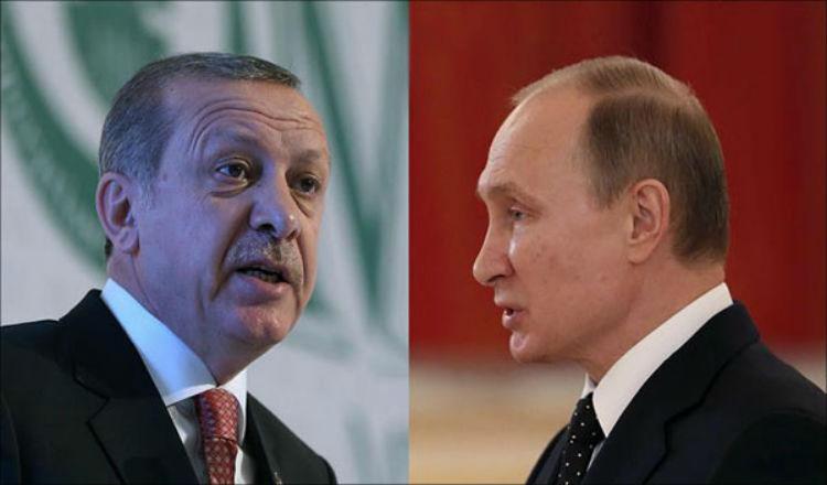 بوتين وأردوغان يزيدان التوتر بتلميحات عسكرية