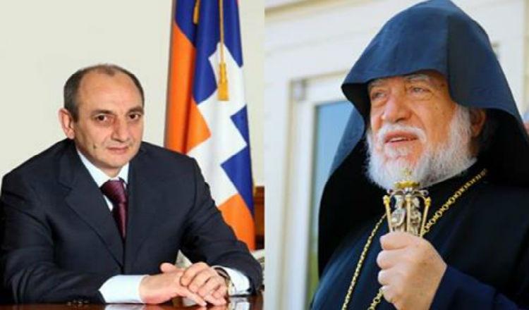 قداسة آرام الأول كيشيشيان يعرب عن دعمه الكامل لجمهورية آرتساخ