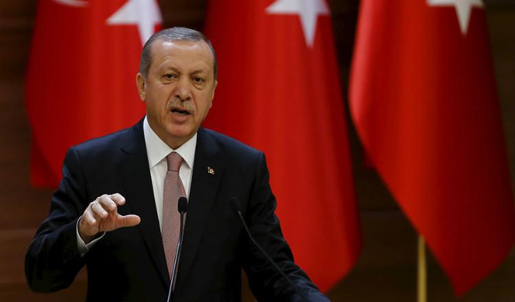 أردوغان يصدر رسالة تعزية لأسر وذوي ضحايا أحداث 1915