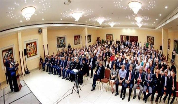 حفل استقبال في مطرانية الأرمن على شرف سفير ألمانيا بلبنان