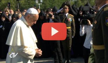 بث مباشر: البابا فرنسيس يزور نصب ومتحف شهداء الإبادة الجماعية الأرمنية