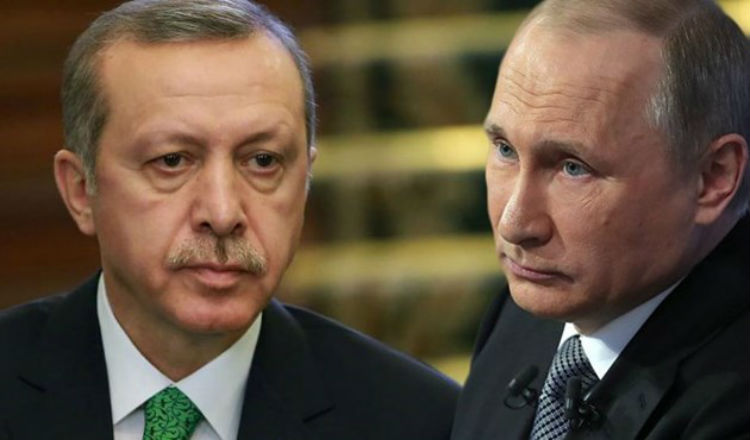 أردوغان يعتذر من بوتين ويطلب تطبيع العلاقات مع موسكو