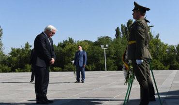 وزير خارجية ألمانيا يزور نصب شهداء الإبادة الجماعية الأرمنية في يريفان
