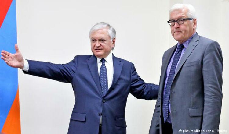 وزير الخارجية الألماني يدعو من أرمينيا إلى إجراء محادثات سلام مع تركيا