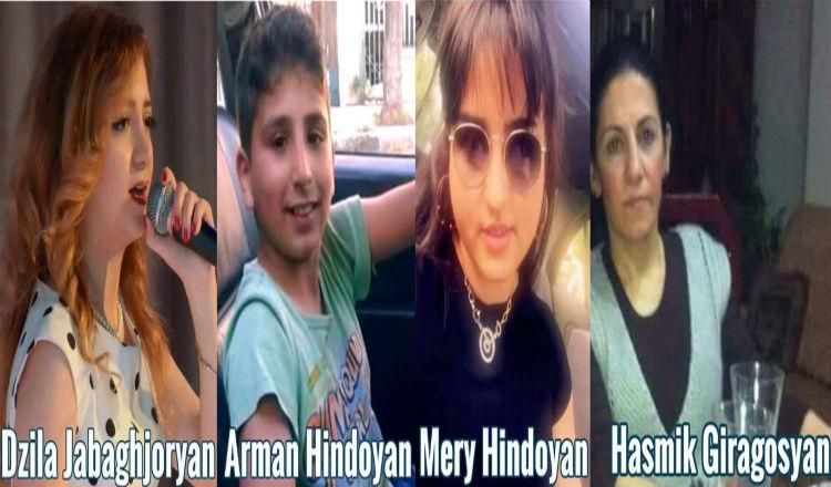 استشهاد 4 أرمن في حلب.. آرمان، دزيلا، هاسميك وميري