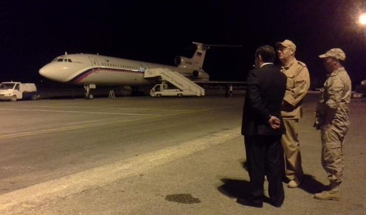 وصول أول طائرة مساعدات أرمنية إلى قاعدة حميميم
