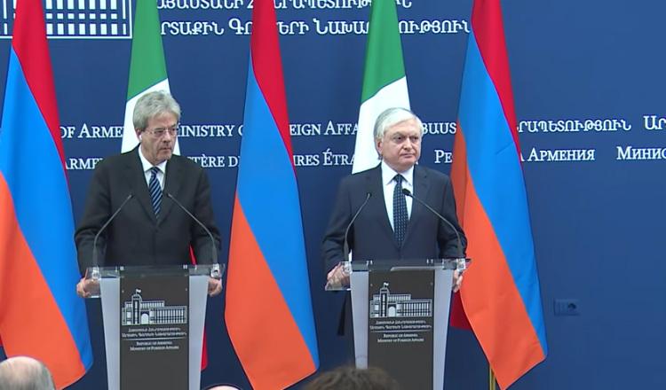 إيطاليا تنوي إلغاء تأشيرة الدخول بين أرمينيا والاتحاد الأوروبي