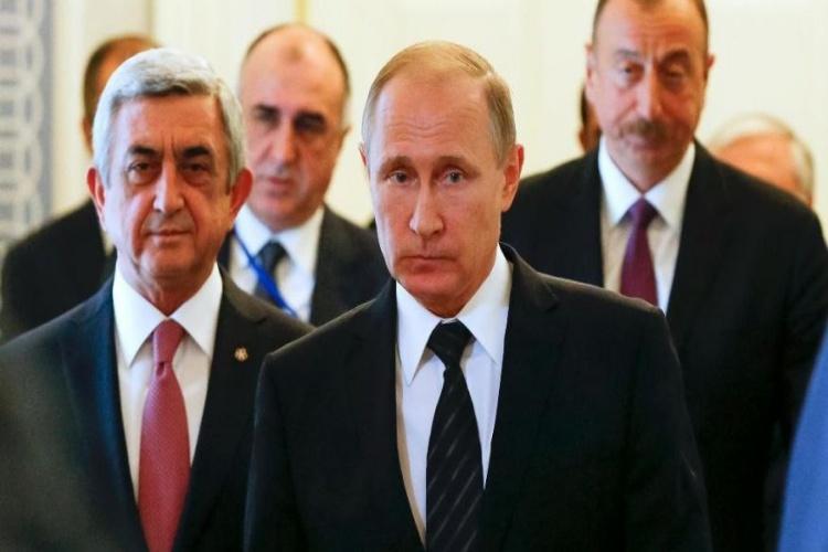 بوتين يوافق على تشكيل قوات مشتركة مع أرمينيا فى القوقاز