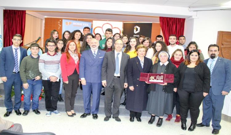 """مؤسسة كوكيكيان توزيع جوائز مسابقة """"البيان"""" في جامعة هايكازيان"""