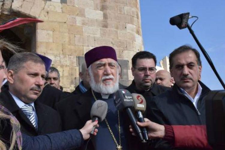 كيشيشيان من حلب: مشاهد المدينة تذكرني بجريمة الإبادة الجماعية الأرمنية