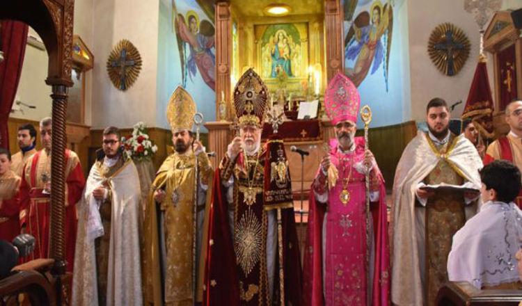 الميادين: الأرمن يحتفلون بعيد الميلاد… وفرحة حلب مختلفة