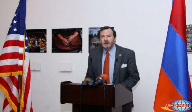 سفير واشنطن في أرمينيا: لابد من إعتراف كامل وشامل باحداث 1915