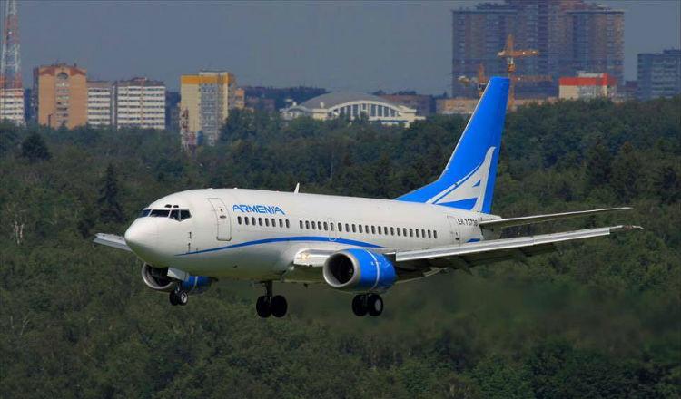 أرمينيا للطيران ستبدأ رحلات مباشرة بين يريفان وبيروت