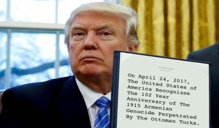 هل يفعلها ترامب ويفاجأ العالم: أمريكا تعترف رسميا بالإبادة الجماعية الأرمنية