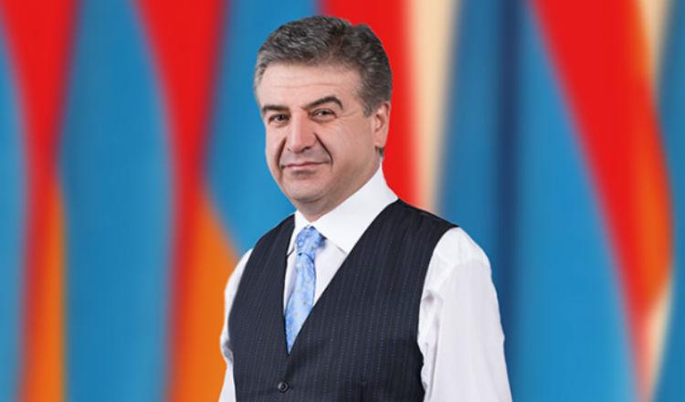 رئيس وزراء أرمينيا كارين كارابيديان يوجه نداء الى أرمن الشتات
